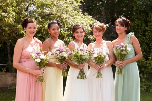 Stunning bridal bouquets by Blooming Green.